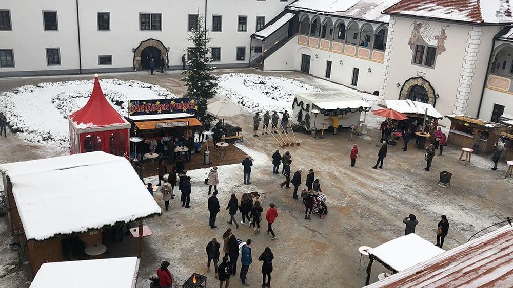 Kartause courtyard market